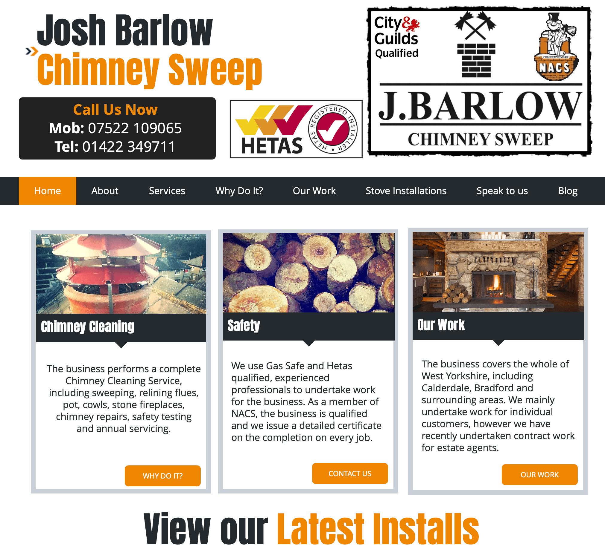 Josh Barlow Chimney Sweep