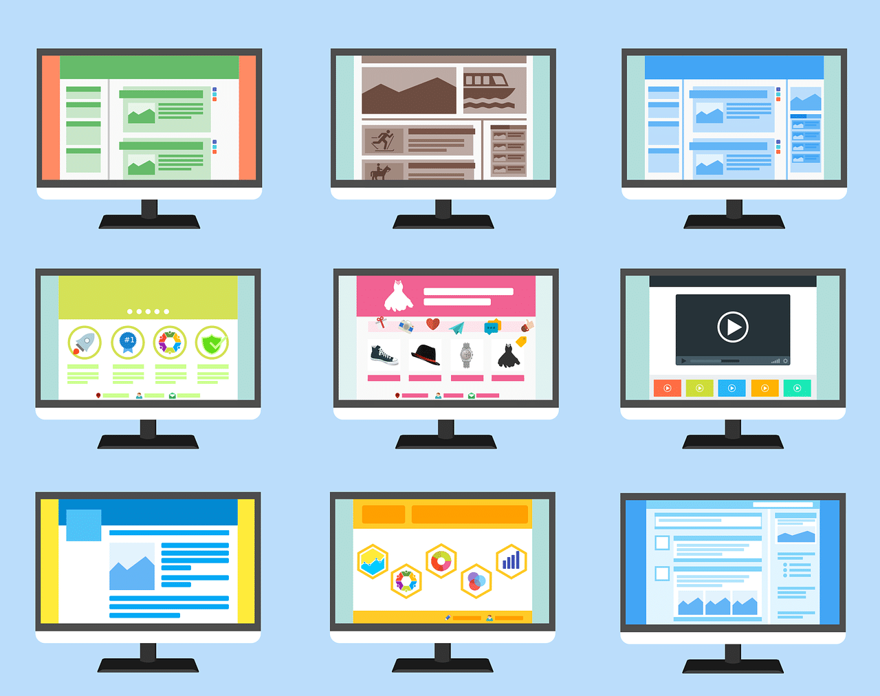 Research and planning is vital when it comes to web design